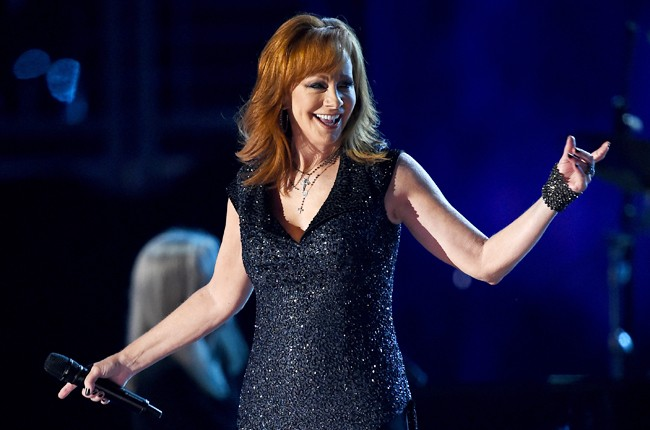 Reba McEntire performs onstage during the 50th Academy Of Country Music Awards