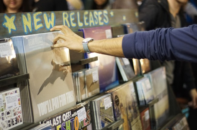 Record Store Day crawl on April 16, 2016.