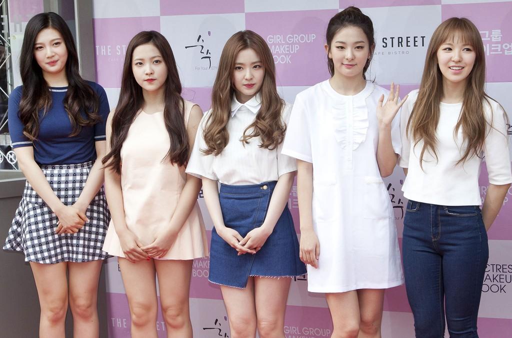 Red Velvet photographed in Seoul