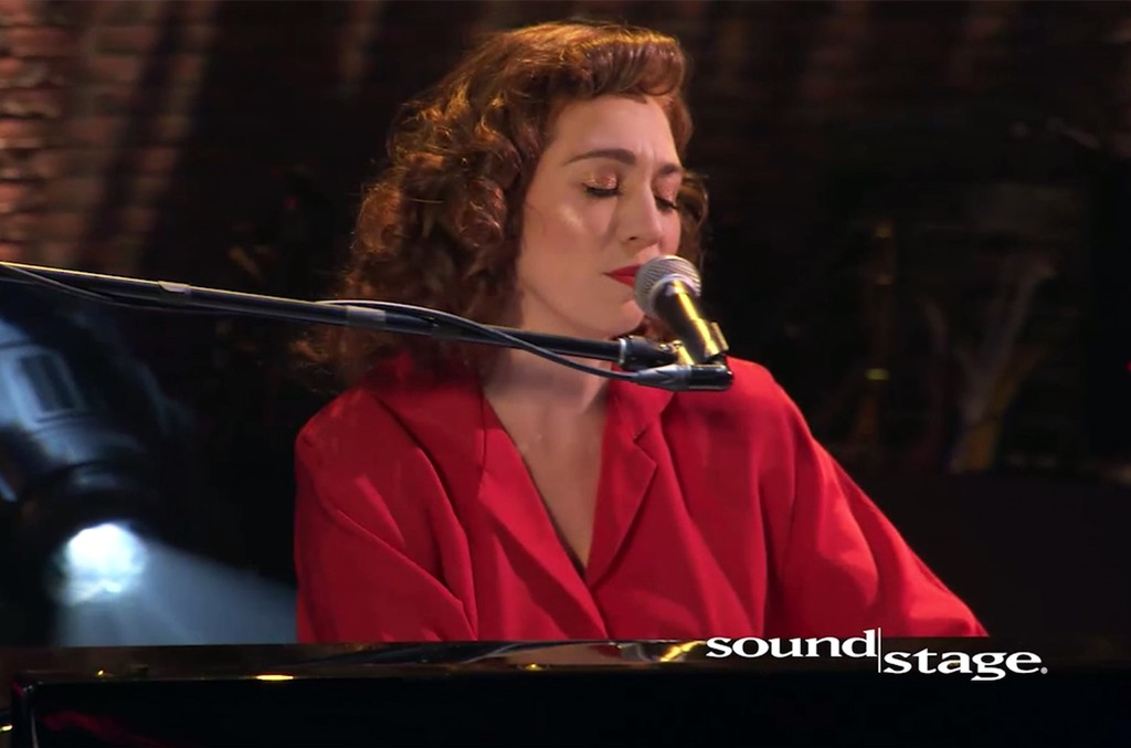 Regina Spektor performs for Soundstage