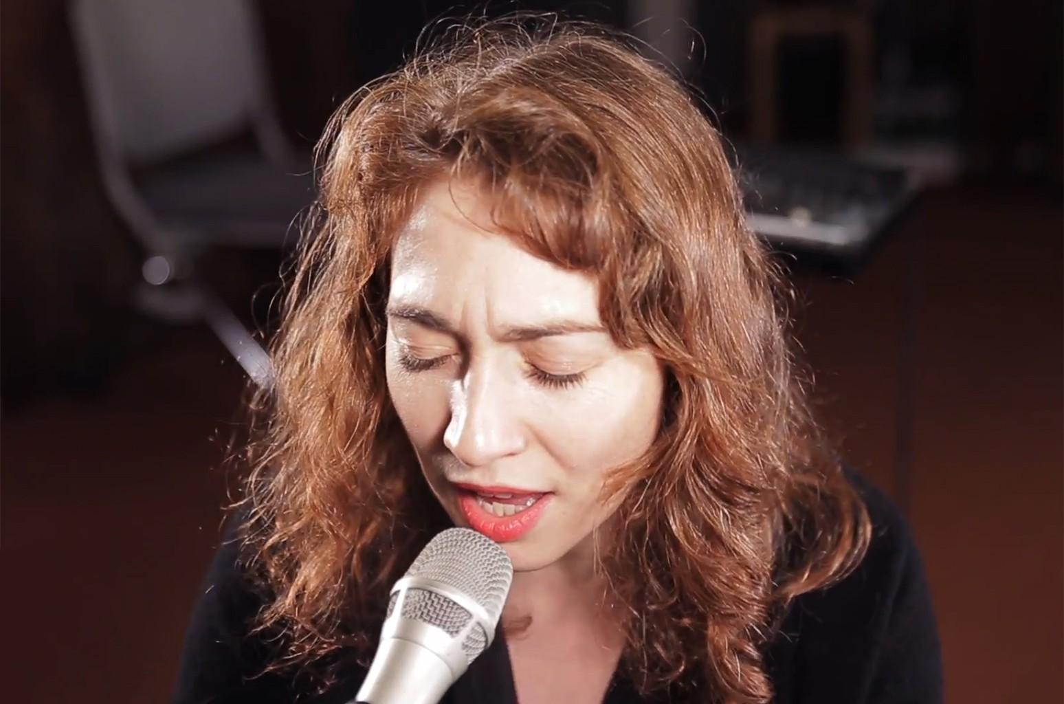 Regina Spektor performs at WFUV