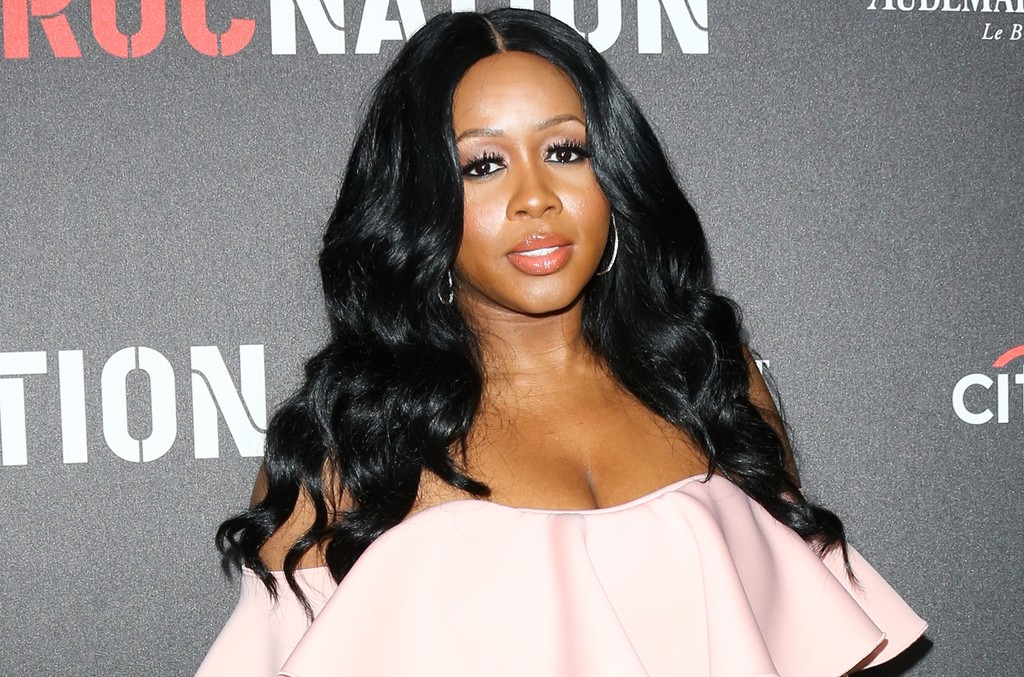 Remy Ma attends the Roc Nation pre-Grammy Brunch on Feb. 11, 2017 in Los Angeles.