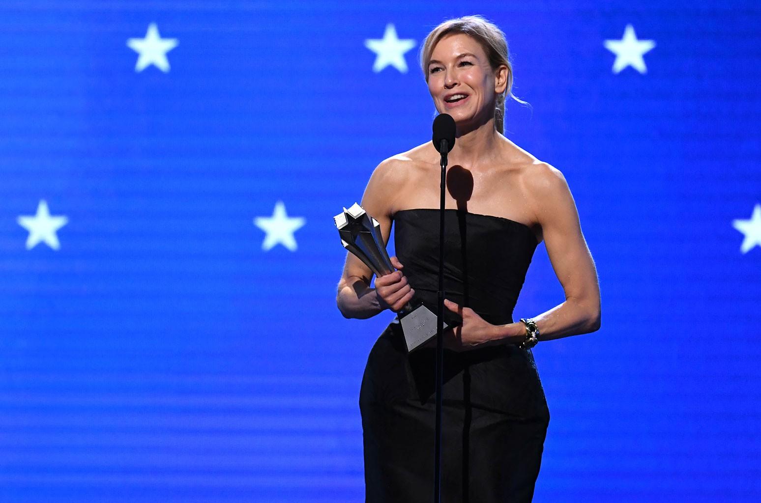 Renée Zellweger, Critics' Choice Awards