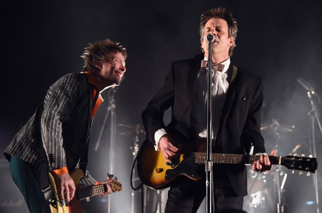 The Replacements perform onstage during day 1 of 2014 Coachella