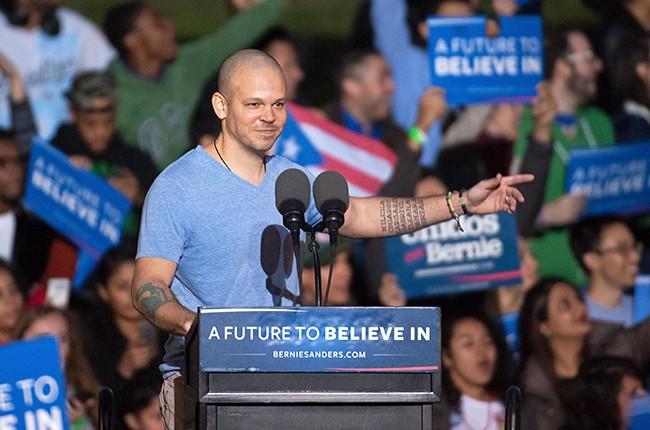 Residente Calle 13 Bernie Sanders 2016
