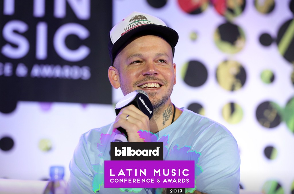 Residente at the Billboard Latin Music Conference and Awards 2017 on April 26, 2017 at the Ritz-Carlton South Beach, Fla.