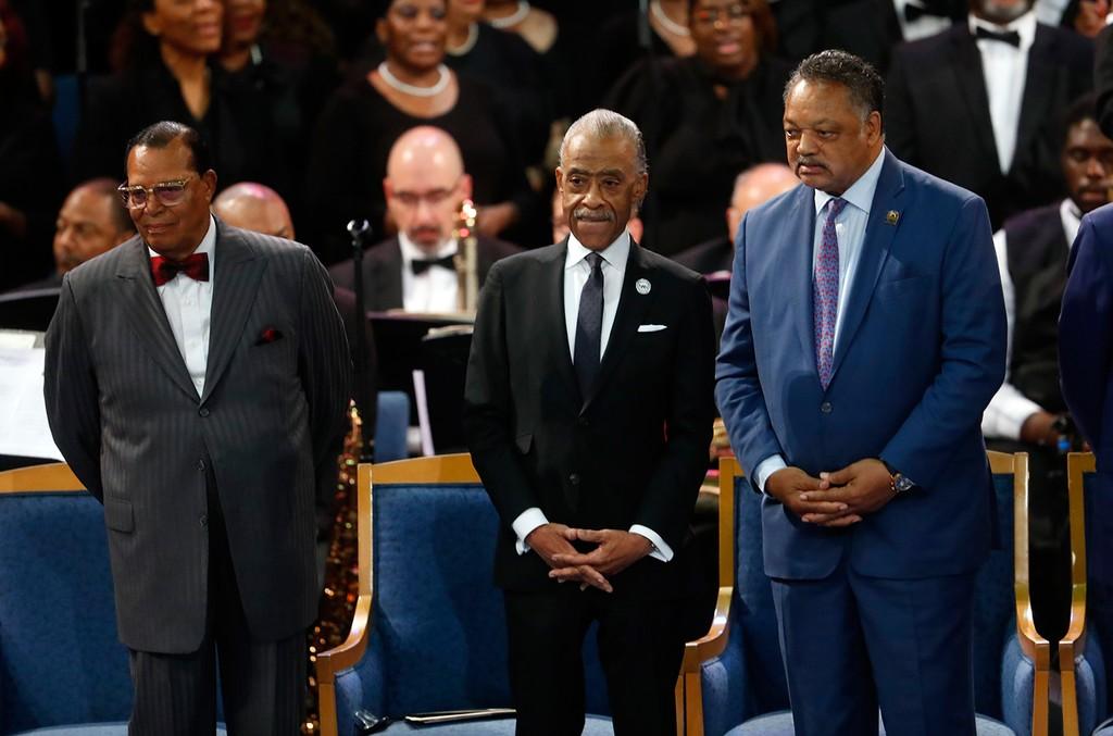 Louis Farrakhan, Rev. Al Sharpton & Rev. Jesse Jackson