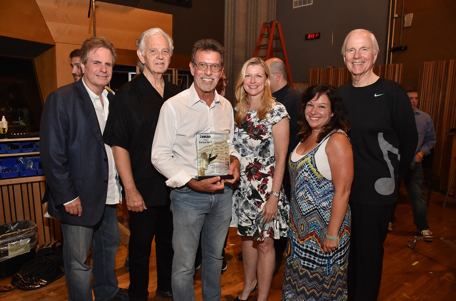 Richard Bellis awarded for mentoring composers in the ASCAP Film Scoring Workshop in Los Angeles.