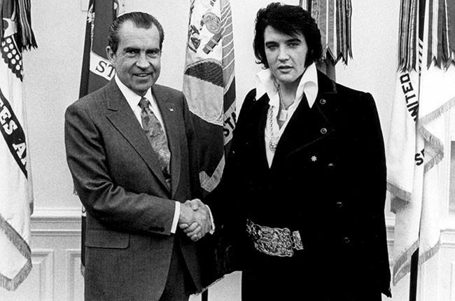 Richard Nixon and Elvis