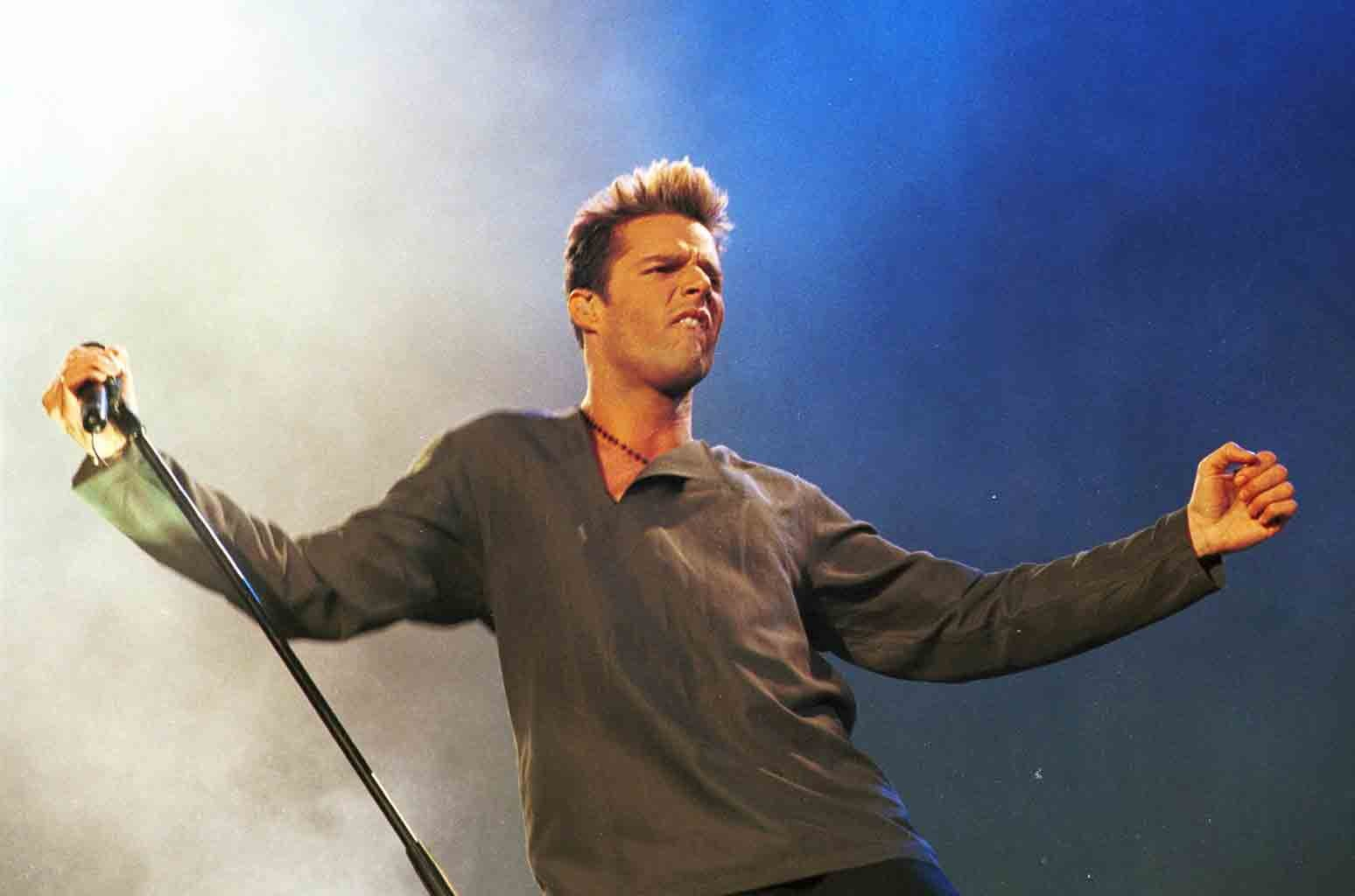 """Ricky Martin during 92.6 FM Presents """"Wango Tango Line-Up"""" at Dodger Stadium in Los Angeles."""