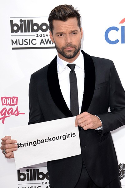 Ricky Martin at the 2014 Billboard Music Awards