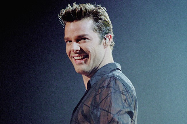 Ricky Martin live in early 2000.