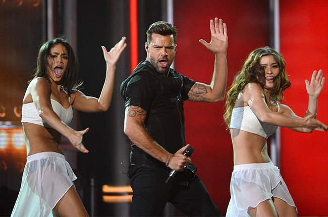 Ricky Martin performs at the 2014 Billboard Music Awards