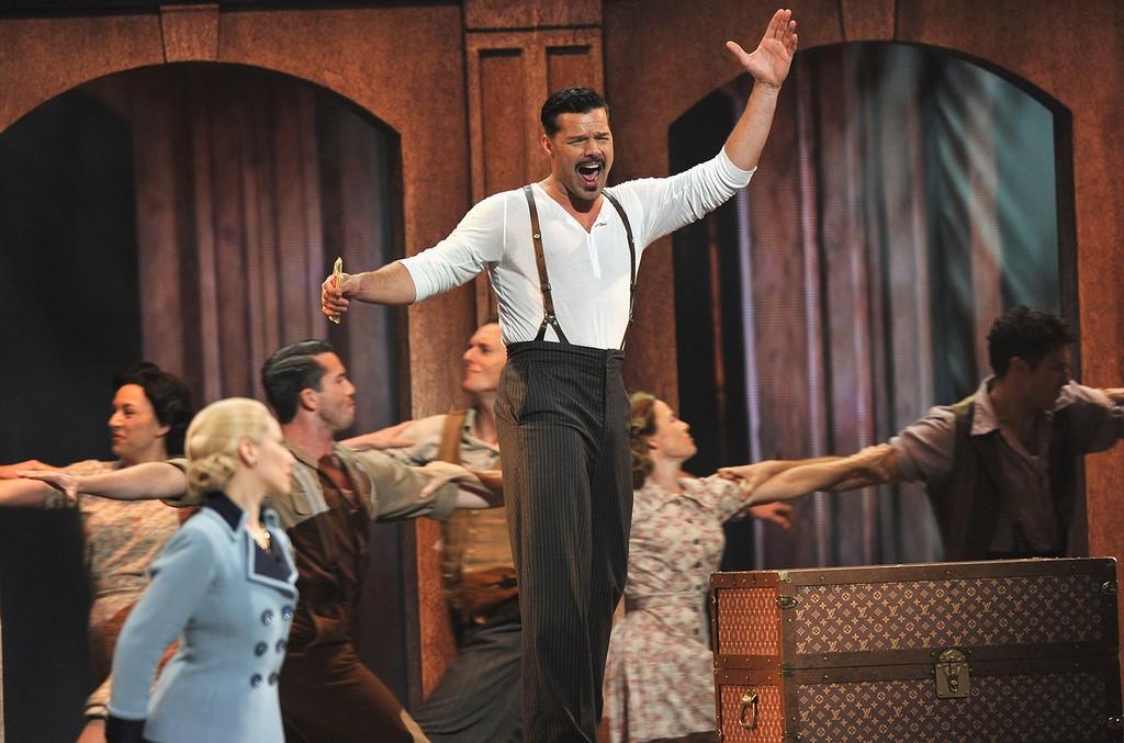 """Ricky Martin in """"Evita"""""""
