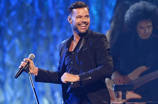 Ricky Martin performs at Power of Love Gala