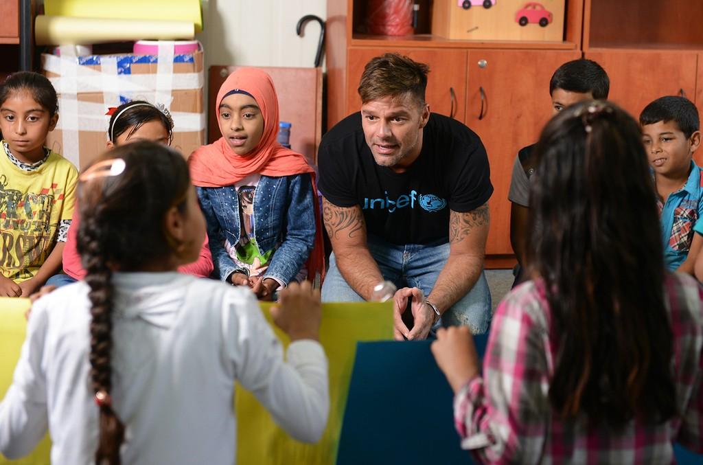 Ricky Martin in Lebanon