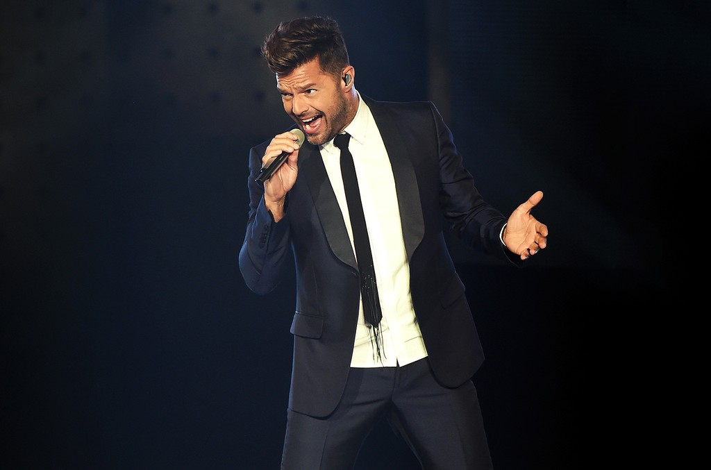 Ricky Martin performs in 2016