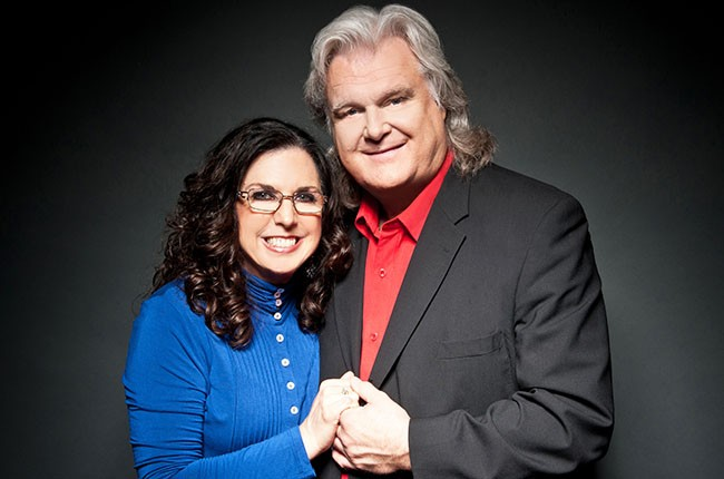 Sharon White and Ricky Skaggs, 2014.