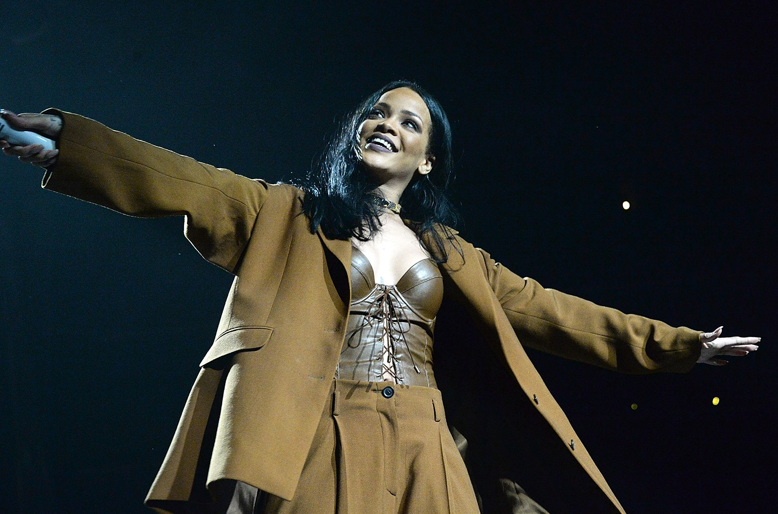"Rihanna performs during her ""Anti World Tour"""