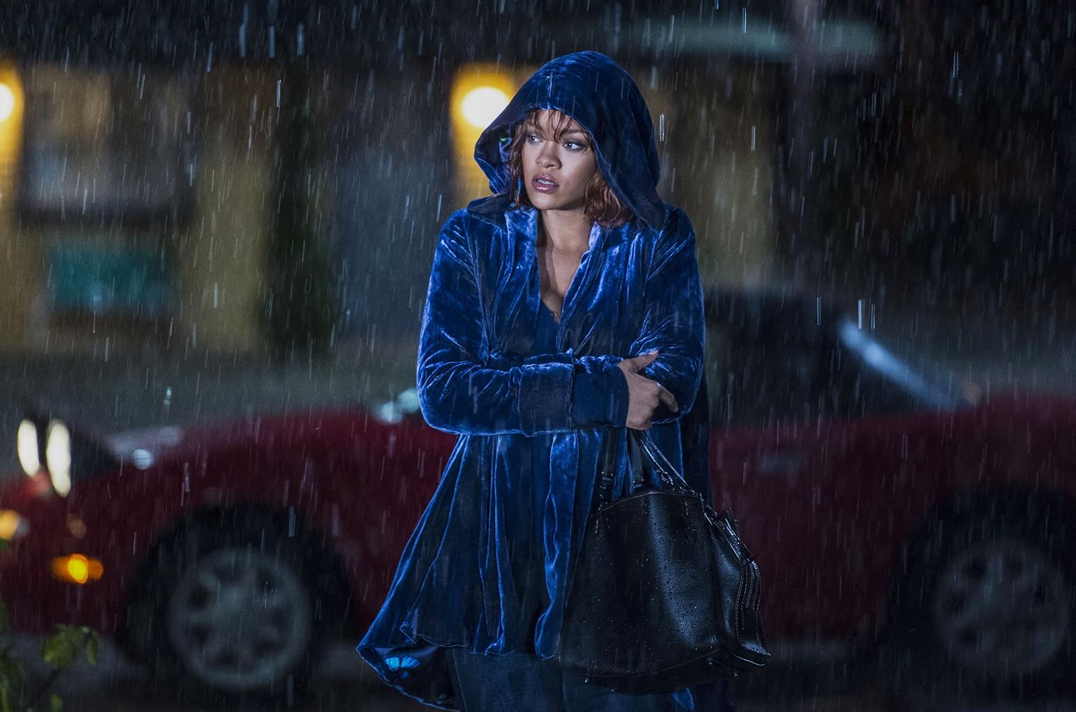 Rihanna as Marion Crane on Bates Motel.