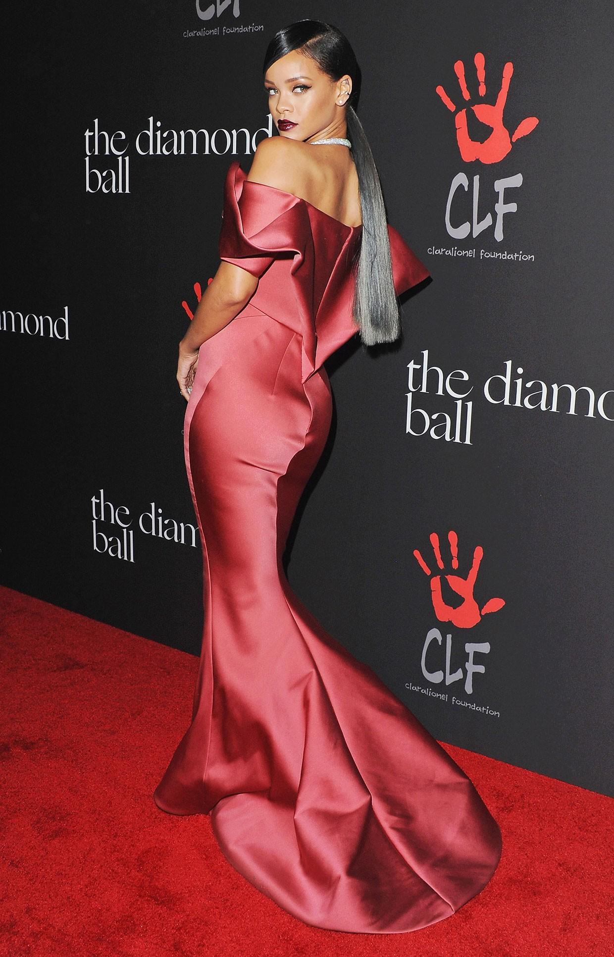 All Of Rihanna S Diamond Ball Looks See Pics Billboard