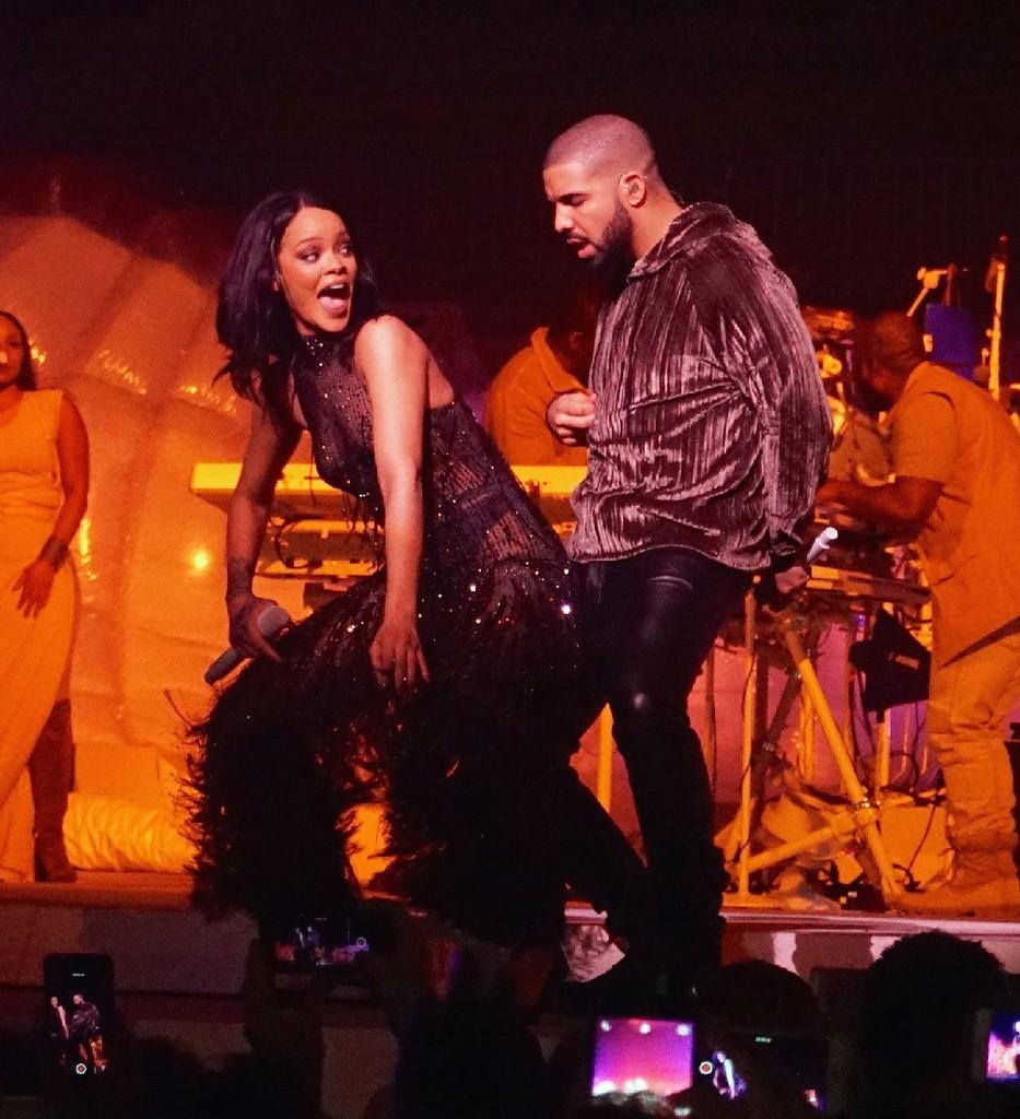 Rihanna Drake Anti 2016