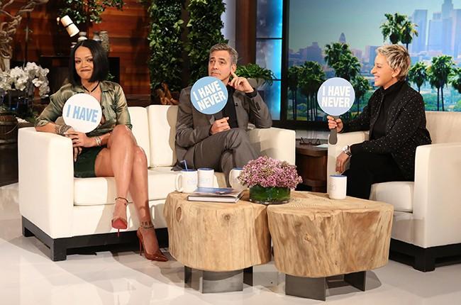 Rihanna  Ellen DeGeneres Show