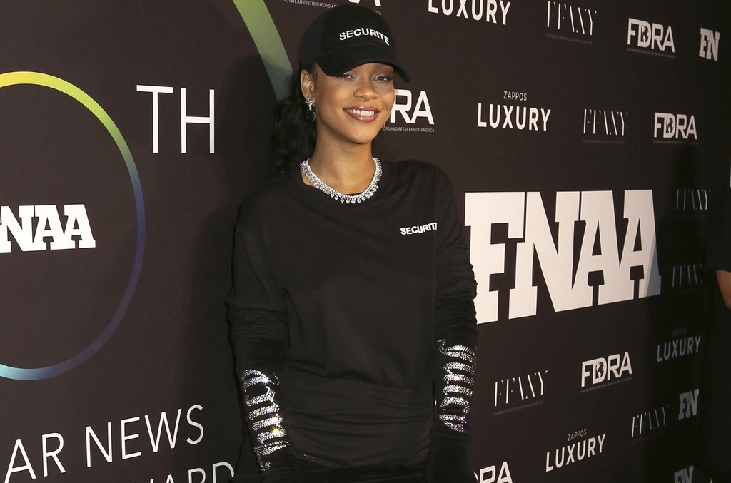 Rihanna attends the 30th FN Achievement Awards