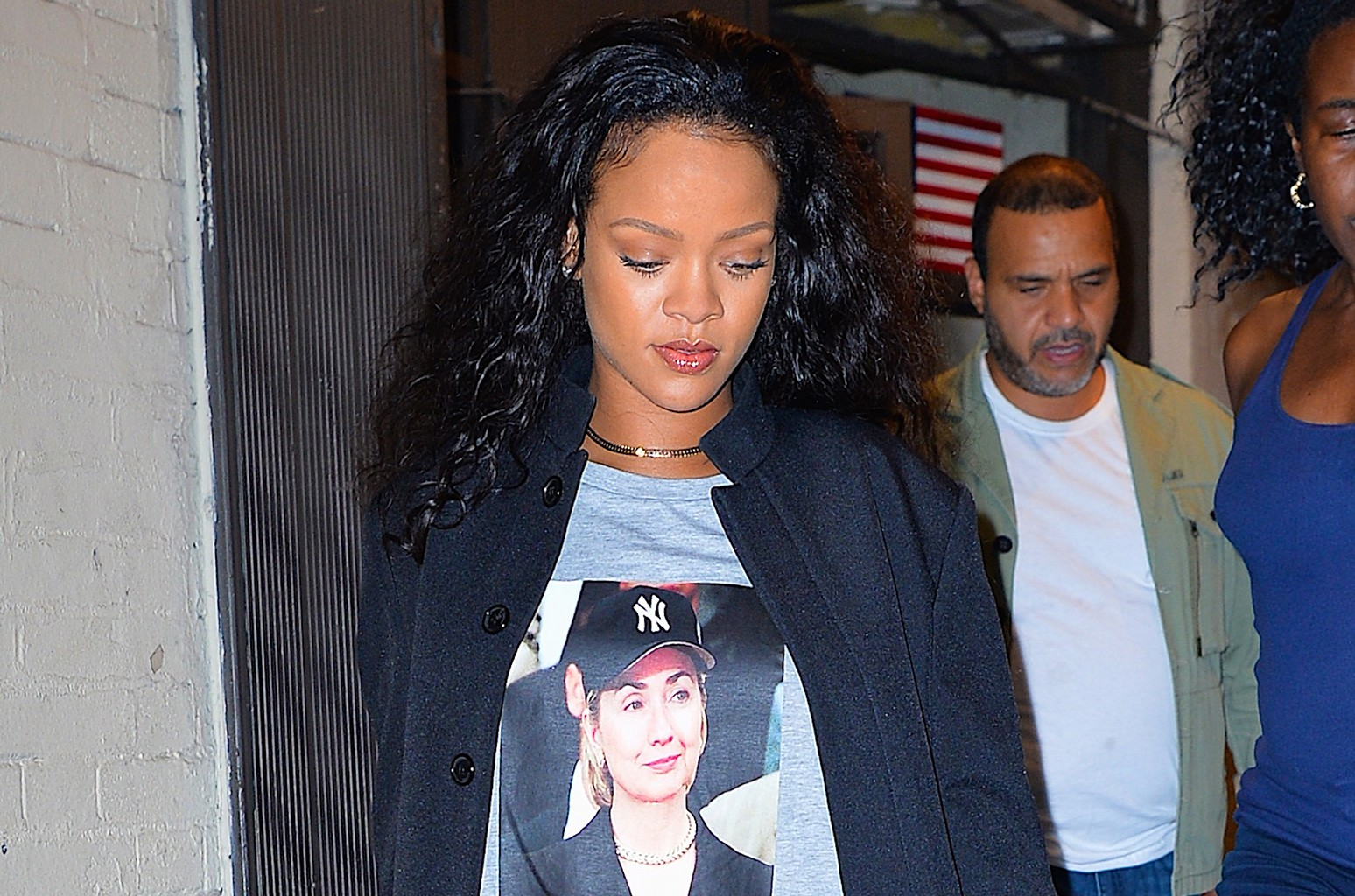 Rihanna photographed on Oct. 19, 2016 in New York City.