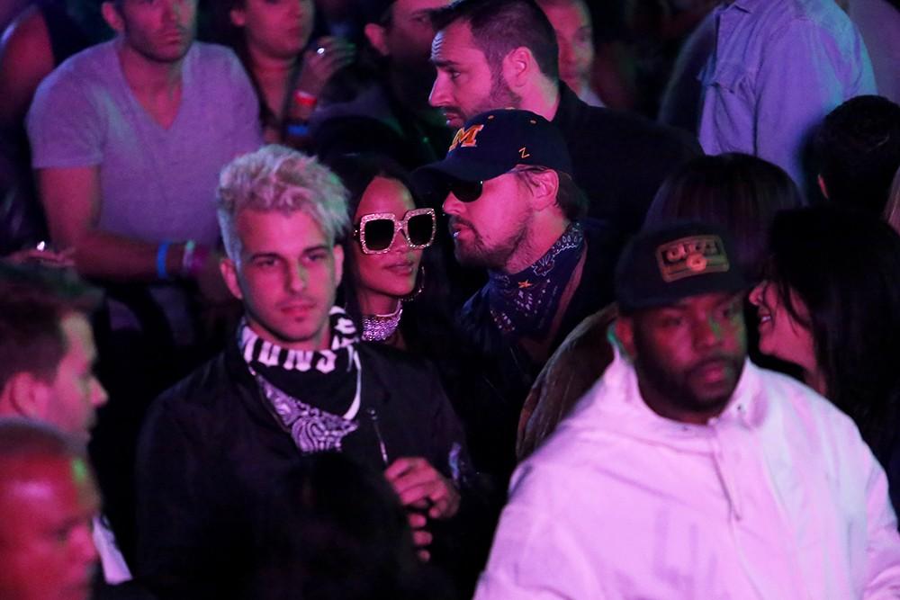 Rihanna and Leonardo DiCaprio Coachella 2016