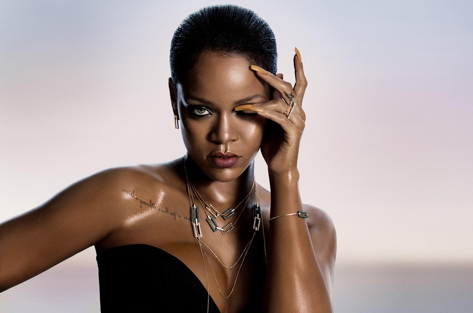 Rihanna for the Rihanna Loves Chopard Collection