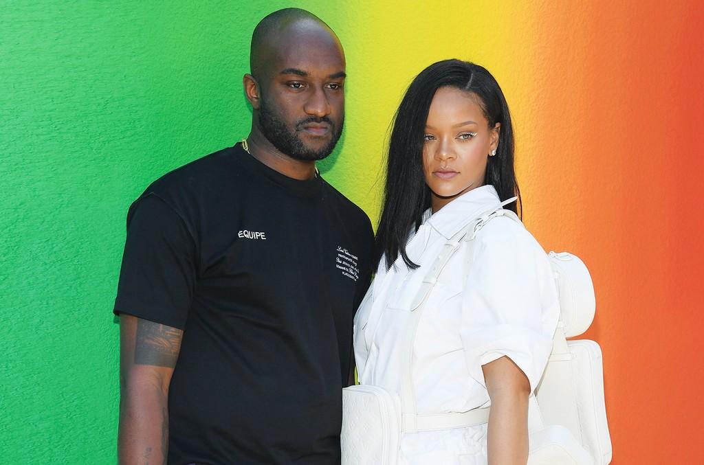 Virgil Abloh and Rihanna