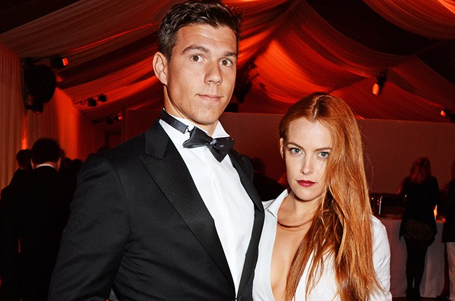 Riley Keough and Ben Peter-Smith