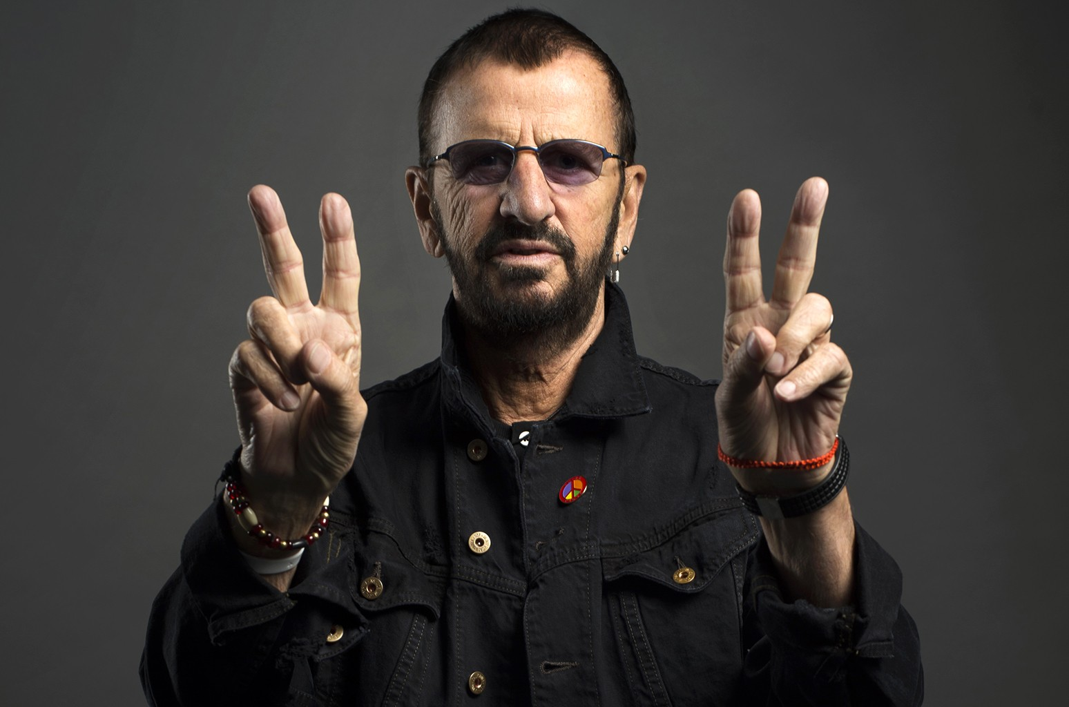 Ringo Starr photographed on June 13, 2016