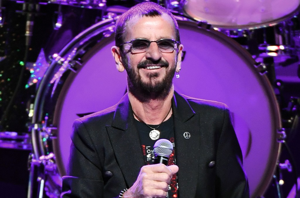 Ringo Starr performs with Ringo Starr & His All-Starr Band at The Smith Center for the Performing Arts on Nov. 13, 2016 in Las Vegas.