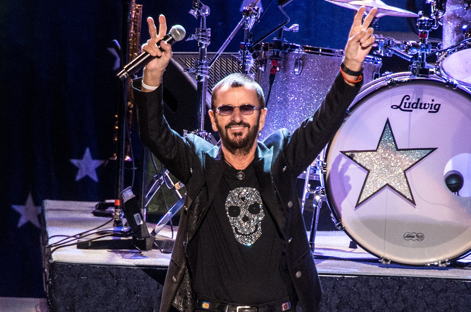 Ringo Starr performs in New York City.