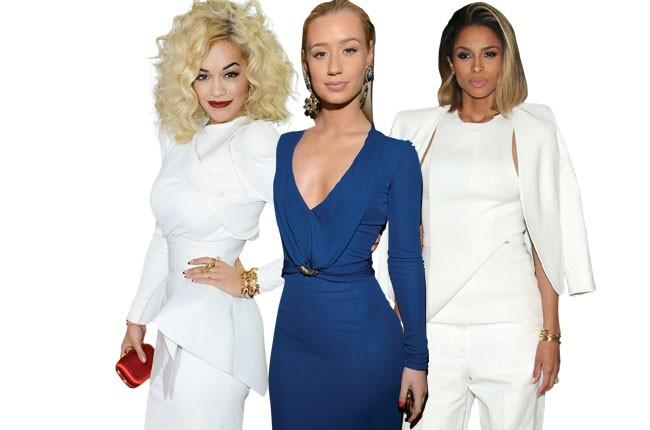 Rita Ora, Iggy Azalea, Ciara