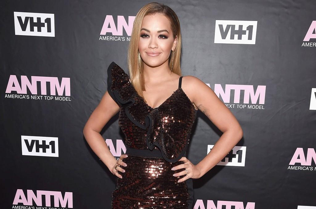 Rita Ora attends VH1's America's Next Top Model premiere