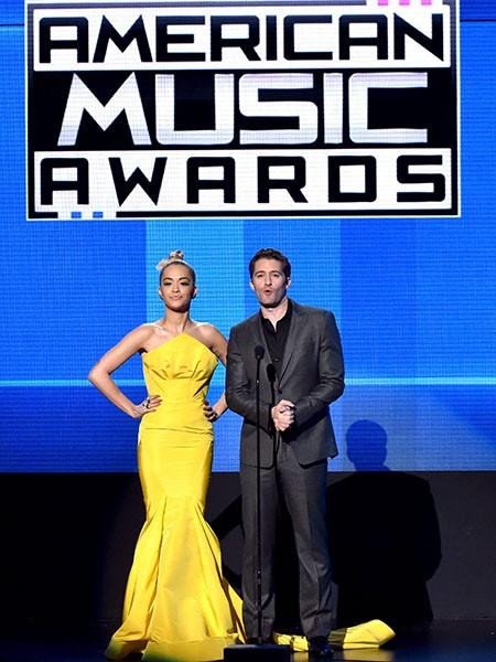 Rita Ora and Matthew Morrison