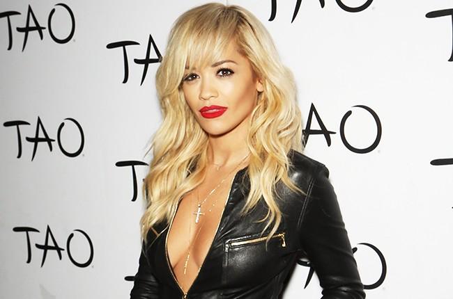Rita Ora hosts an event at the Tao Nightclub in Las Vegas