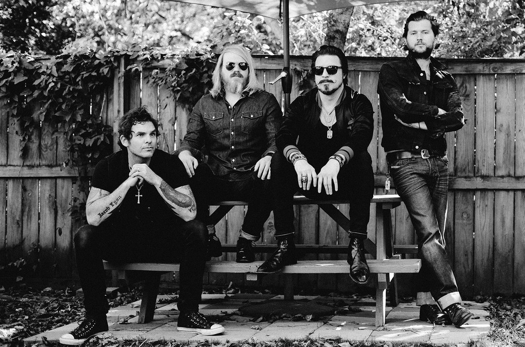 Rival Sons photographed in 2015