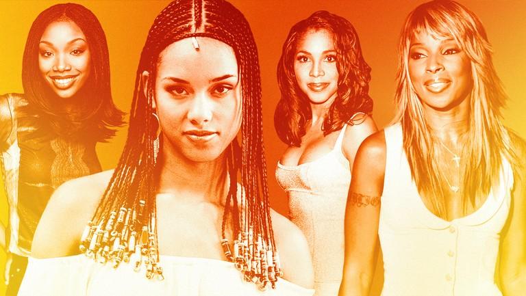 <p>From left: Brandy, Alicia Keys, Toni Braxton &amp&#x3B; Mary J. Blige</p>