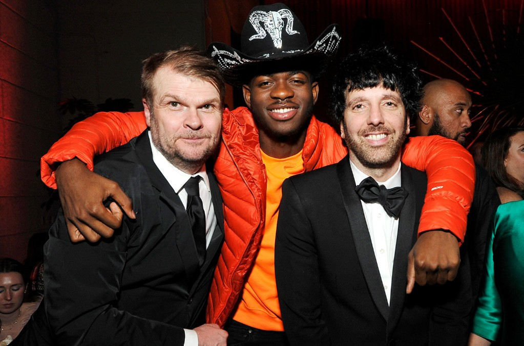Rob Stringer, Lil Nas X and Ron Perry