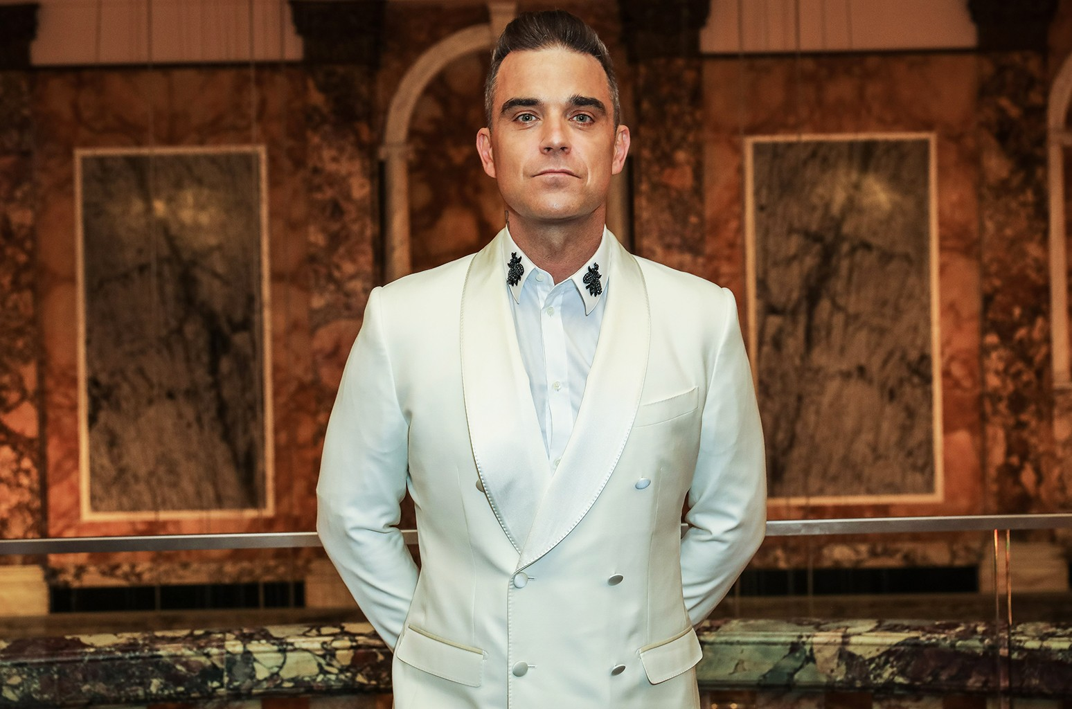 Robbie Williams in 2016