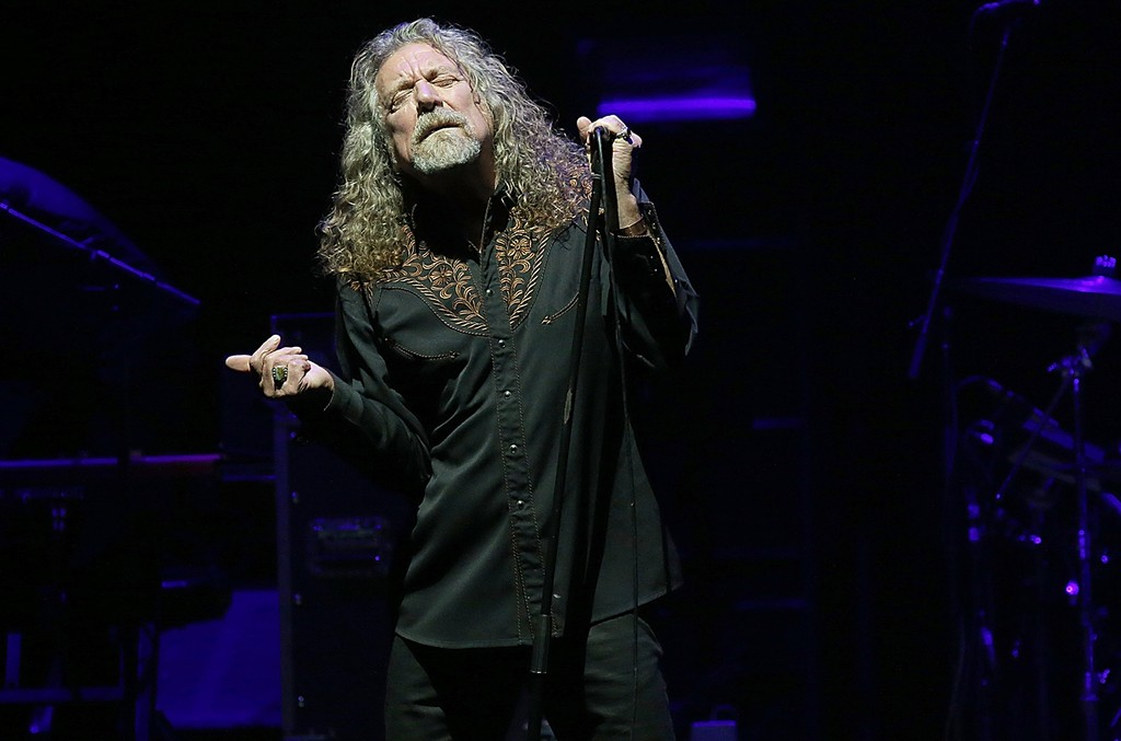 Robert Plant performs in Austin