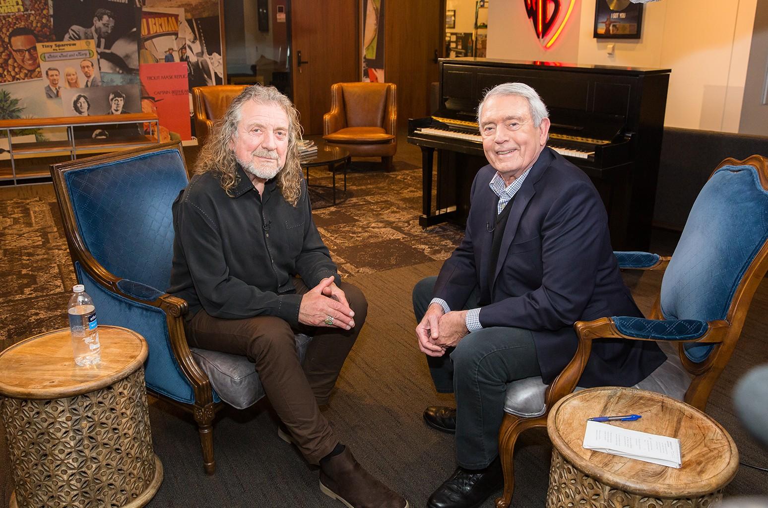 Robert Plant Dan Rather