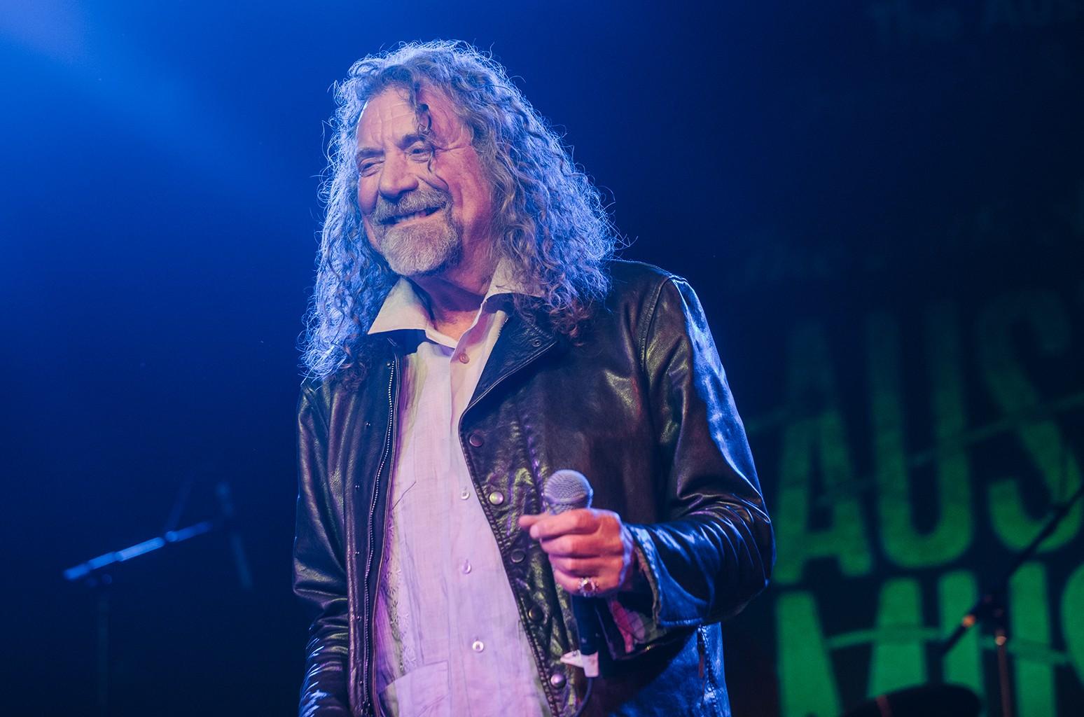 Robert Plant, 2016