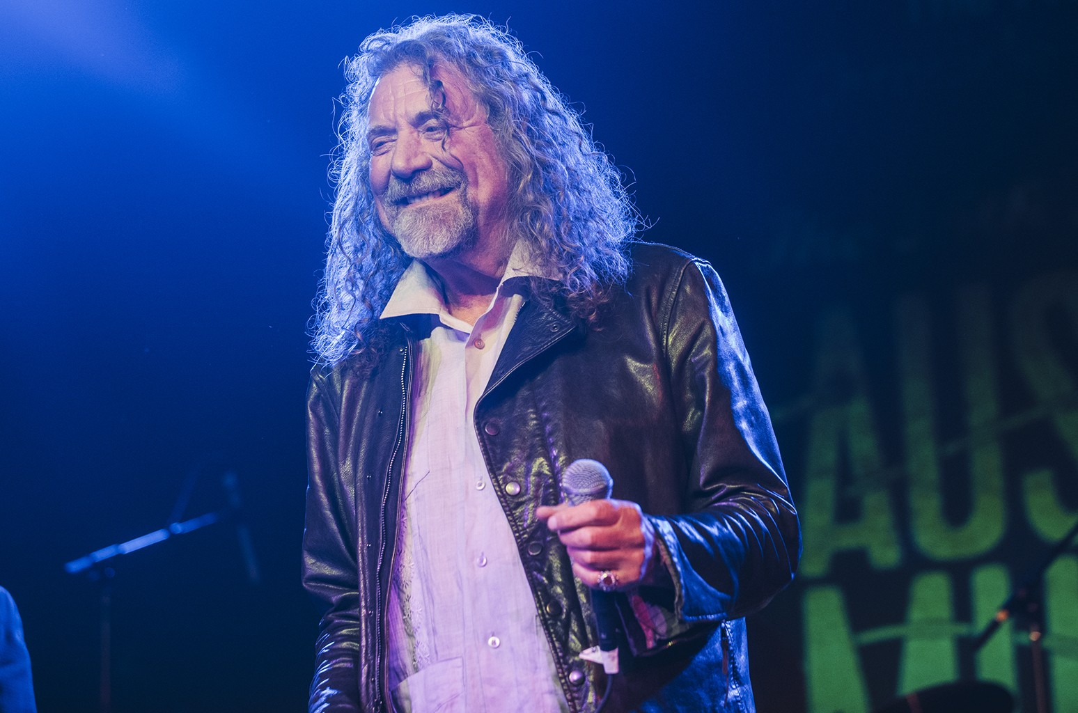 Robert Plant performs during SXSW