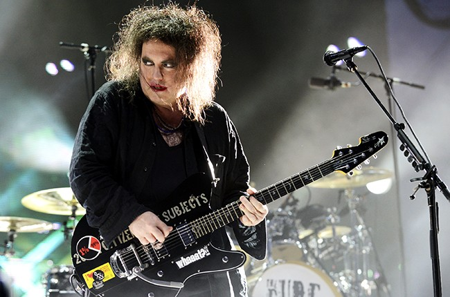 Robert Smith of The Cure at Bottlerock Music Festival