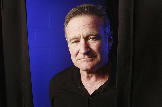 Robin Williams photographed in 2009.